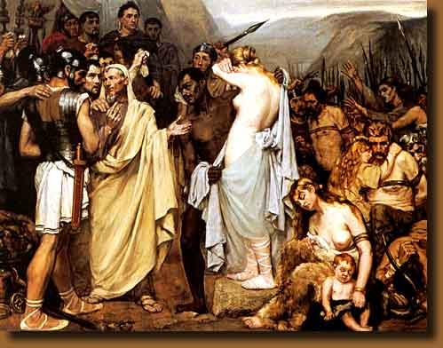 Kinship of Julius Caesar with Daniel and Lalou Holdt